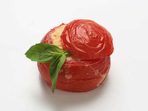 ベーコンバジルトマト