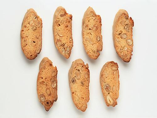 スモークナッツのビスコッティ