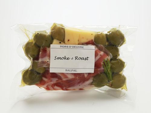 燻製BALPALの「チーズ&オリーブ(パンチェッタ)」