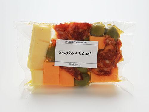 【燻製BALPAL】の「チーズ&オリーブ(サラミピカンテ)」