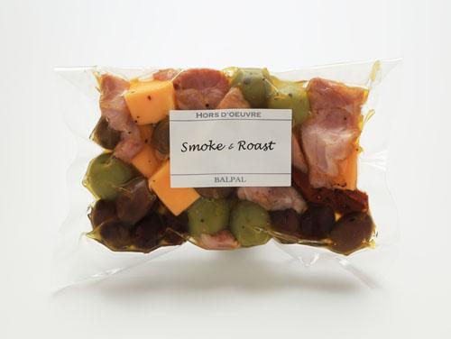 燻製BALPALの「チーズ&オリーブ(京鴨スモーク)」