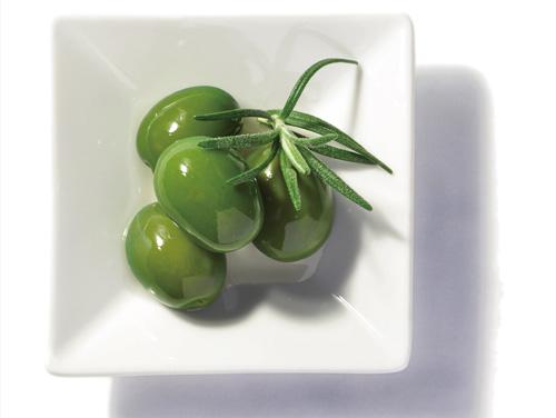 グリーンオリーブ盛付