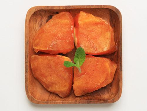 柿クリームチーズ盛付