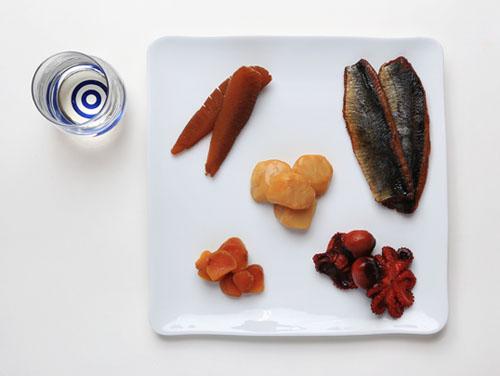 日本酒に合うおつまみ5種盛