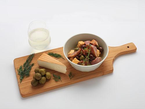 「チーズ&オリーブ(京鴨スモーク)」が入ったラバーズセット