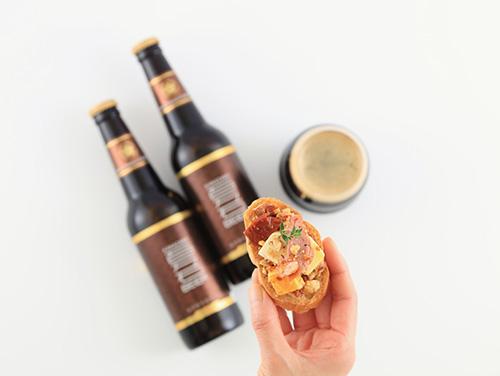 クラフトビールに合う京鴨スモーク