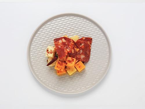 3種のナチュラルチーズ&辛口サラミ