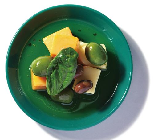 ゴーダ&レッドチェダーオイル漬バジル風味