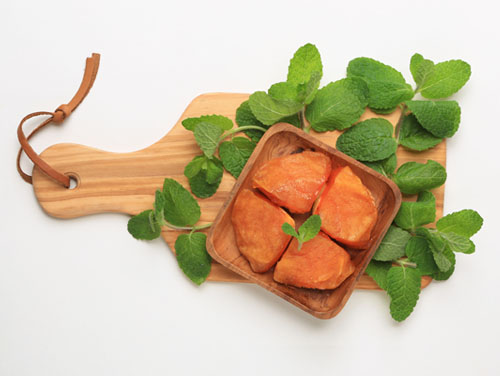 柿とクリームチーズ