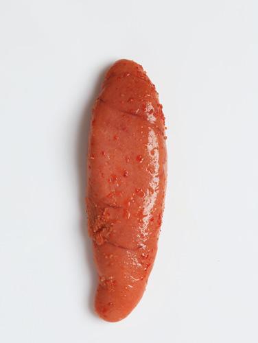 和食材スモークの人気商品「明太子燻製」